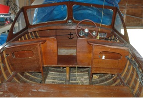 The hull is sound and no rot, make one piece and refinish only.