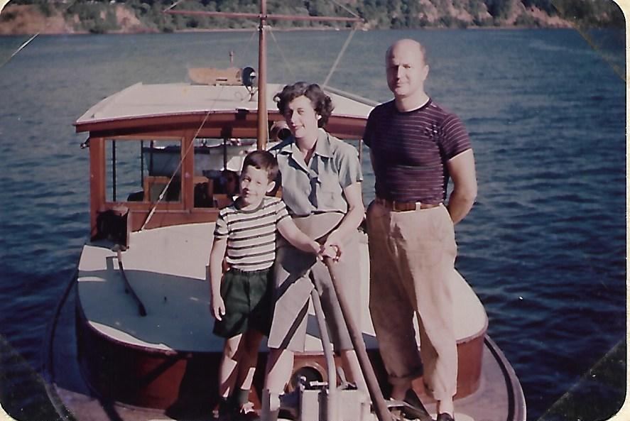 dabc5dbb2 The NONA was built in Maine, a lapstrake day boat with a cabin and bunks up  forward, a Gray Marine 6, which took us on hundreds of outings with never a  ...